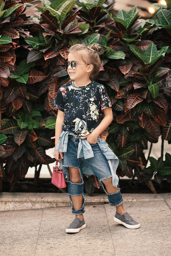 T-shirt Beauty Flowers Blessinha