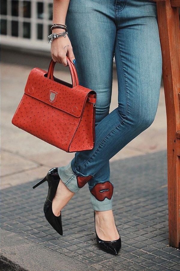 Calça Jeans Boca