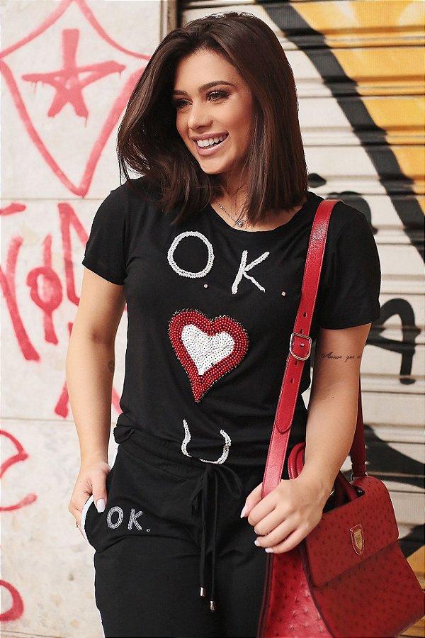 LANÇAMENTO | T-Shirt O.K. Heart