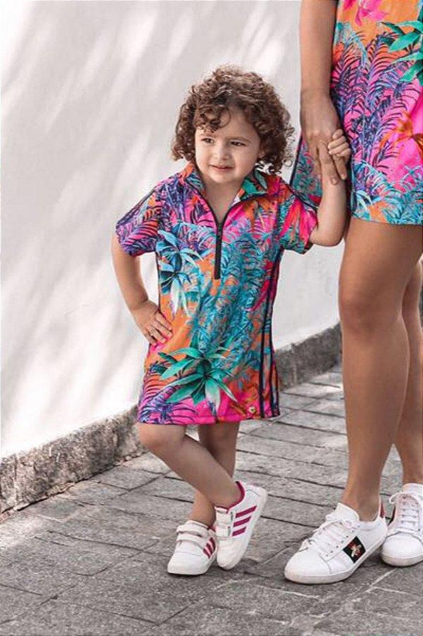 LANÇAMENTO | Vestido Floresta Colorida Blessinha