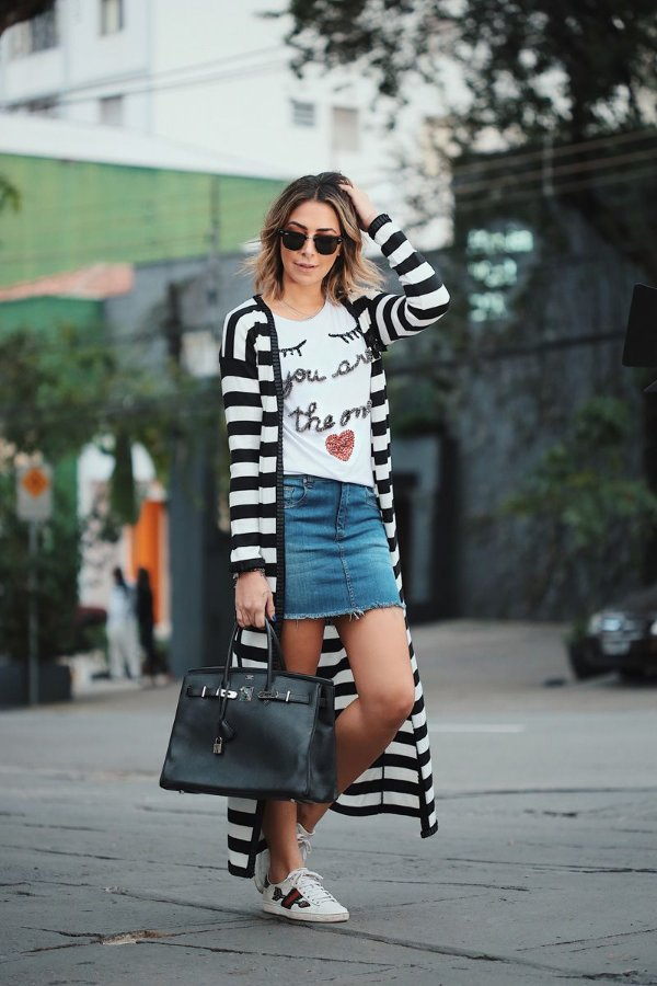 LANÇAMENTO | Saia Jeans Basic
