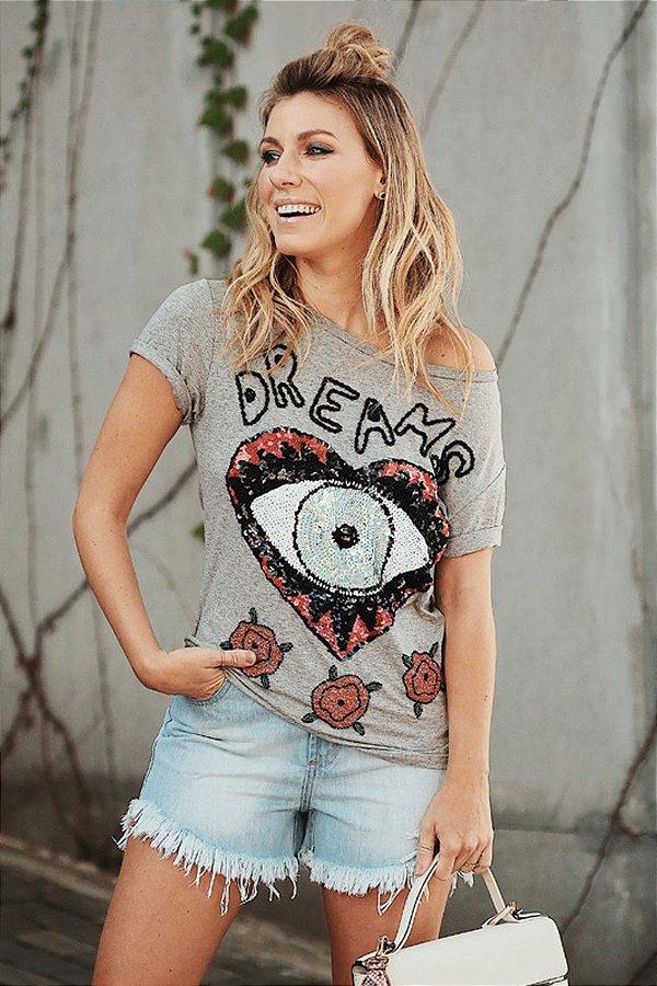 LANÇAMENTO | T-Shirt Dream Heart Flores