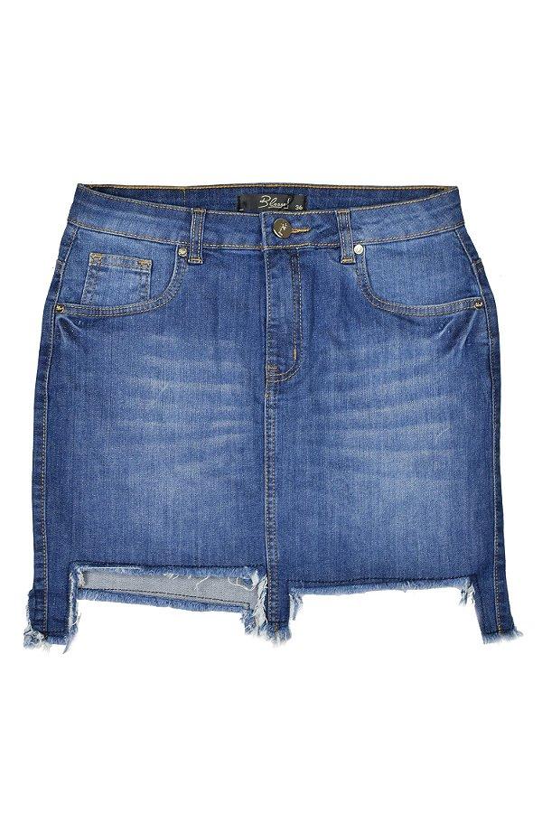 SALE | Saia Jeans Assimétrica