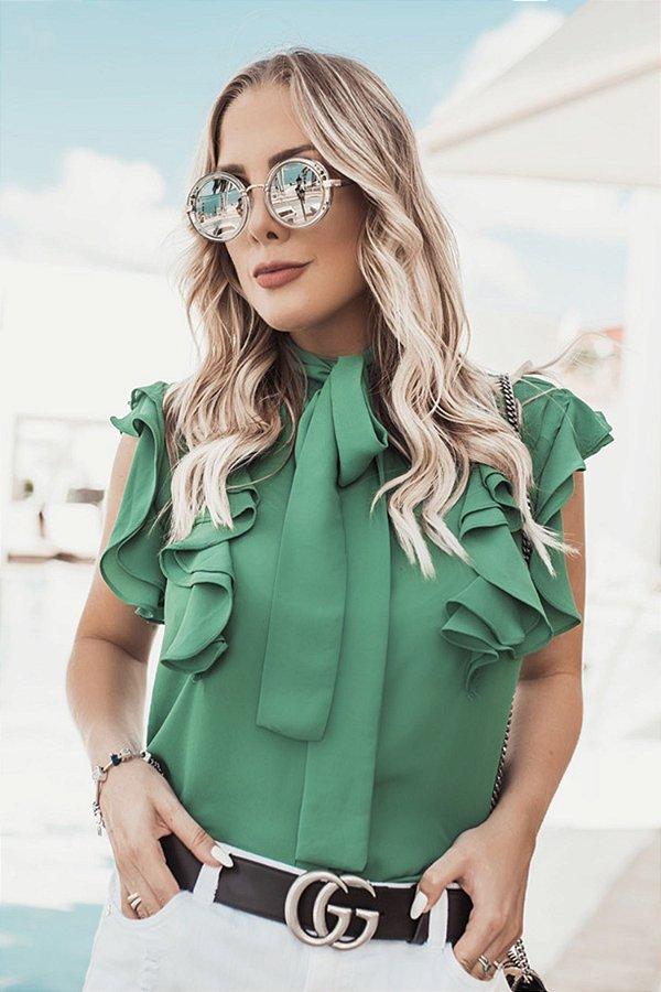 SALE | Camisa Haiti Verde