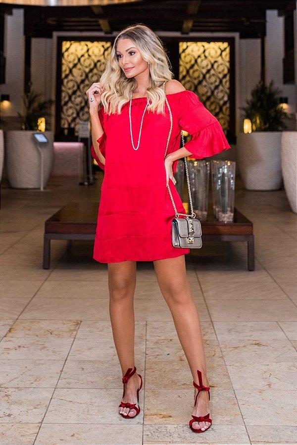 ISLA COLLESCTION | Vestido Sandía Vermelho
