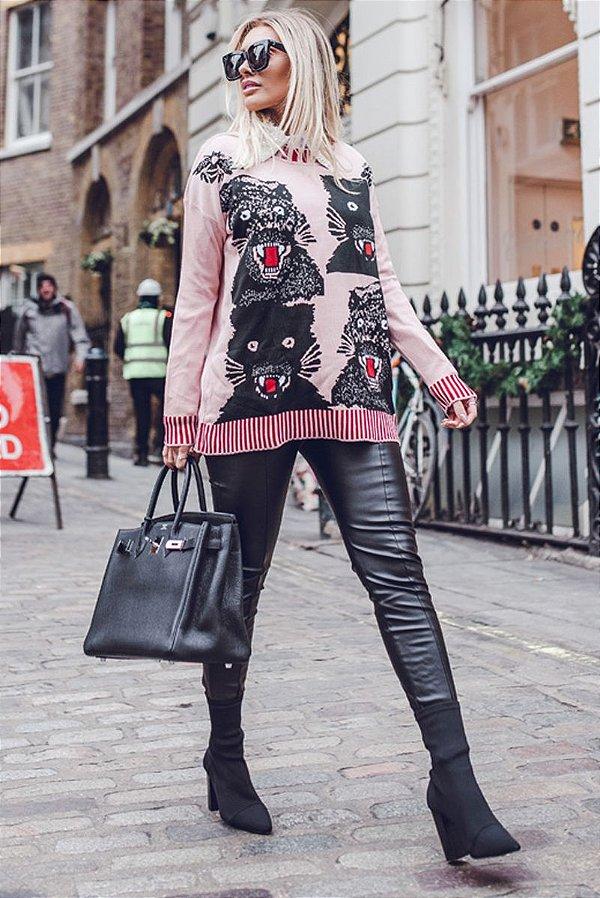 LONDON COLLECTION   Calça Skinny Exclusive Black