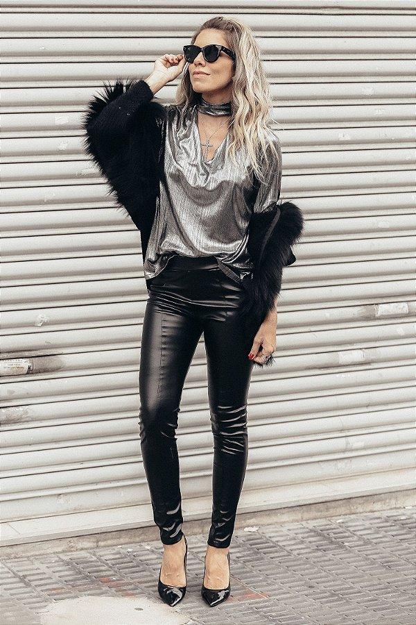 LONDON COLLECTION | Calça Skinny Exclusive Black Letage