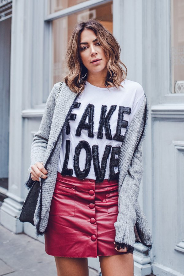 LONDON COLLECTION | Saia Exclusive Fake Florence Vinho