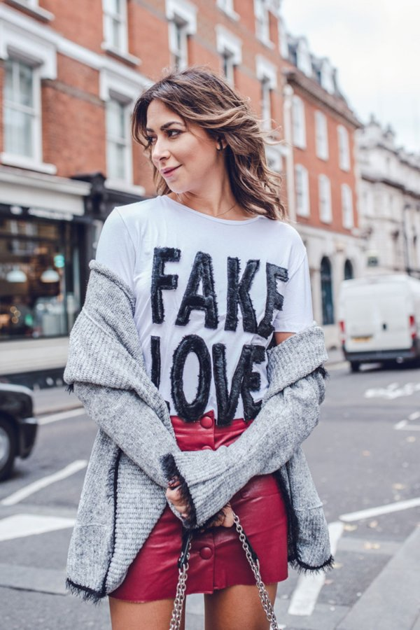 LONDON COLLECTION | Blusa Fake Love Pelúcia