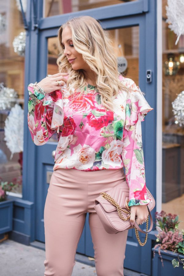 LONDON COLLECTION | Blusa Estampa Rose