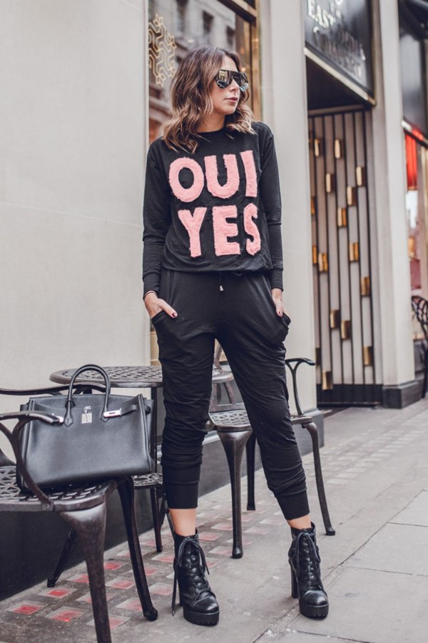 LONDON COLLECTION | Conjunto Moletom Oui Yes