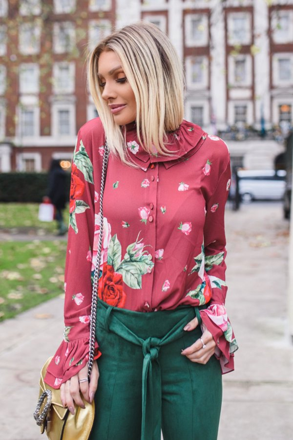 LONDON COLLECTION | Camisa Estampa Florenze