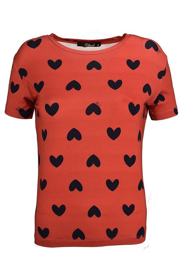 LONDON COLLECTION   T-Shirt Julie Corações