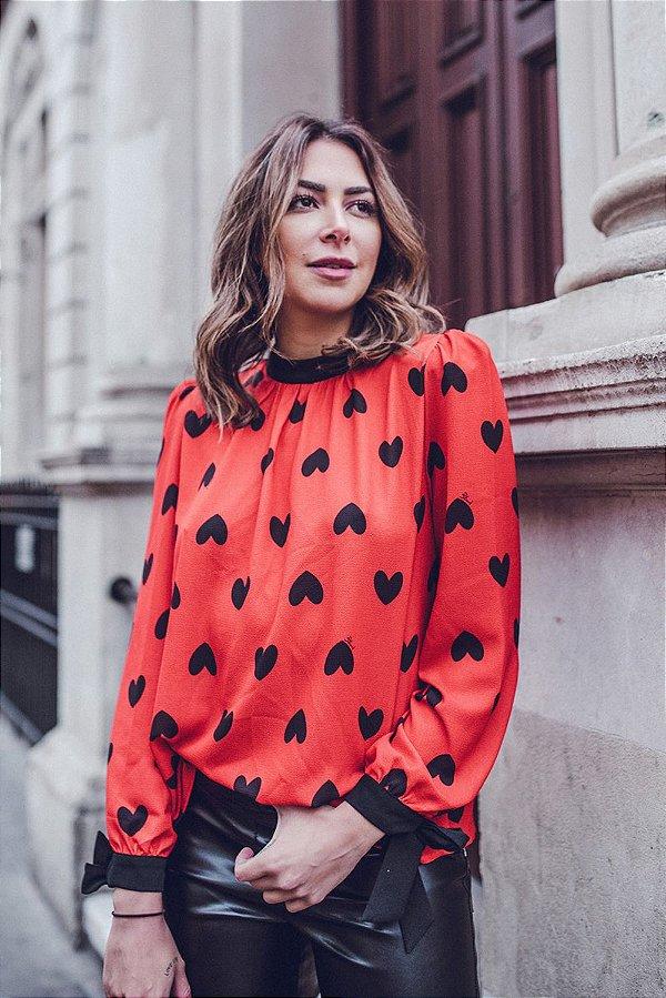LONDON COLLECTION | Camisa Julie Corações