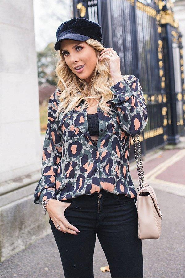 LONDON COLLECTION | Camisa Jaguar Camuflada
