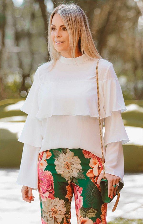 SPRING PREVIEW | Camisa Off-White Babados