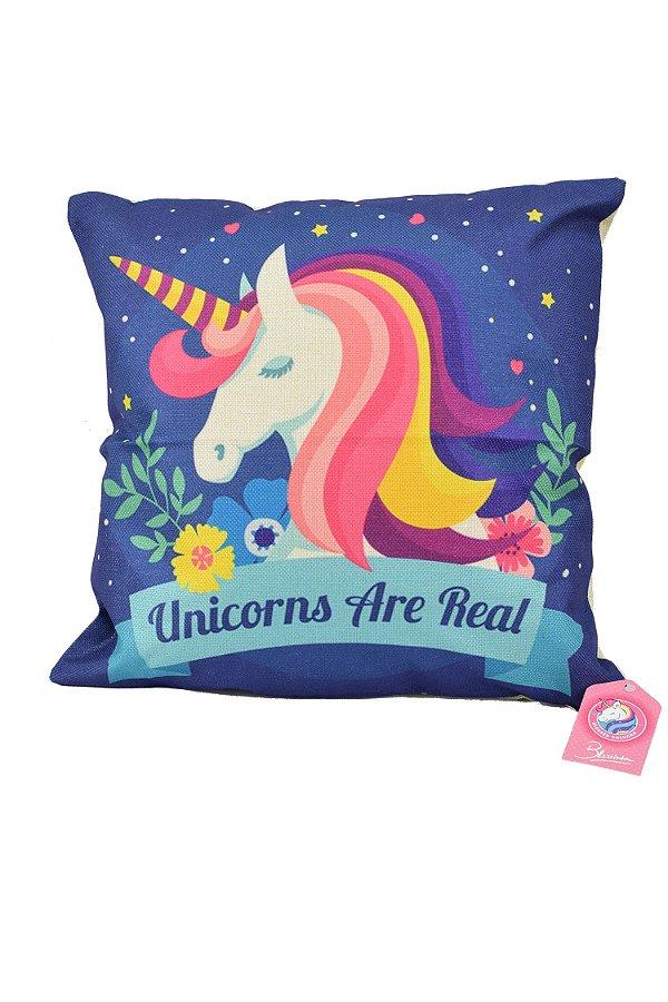 BLESSED UNICORN   Almofada Unicorns Are Real
