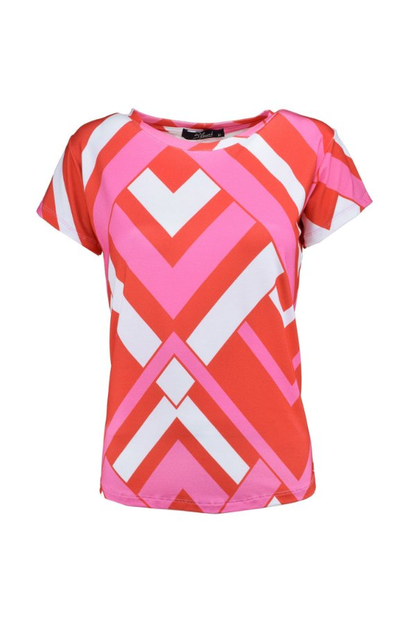 SPRING PREVIEW | Blusa Teen Geometric Pink