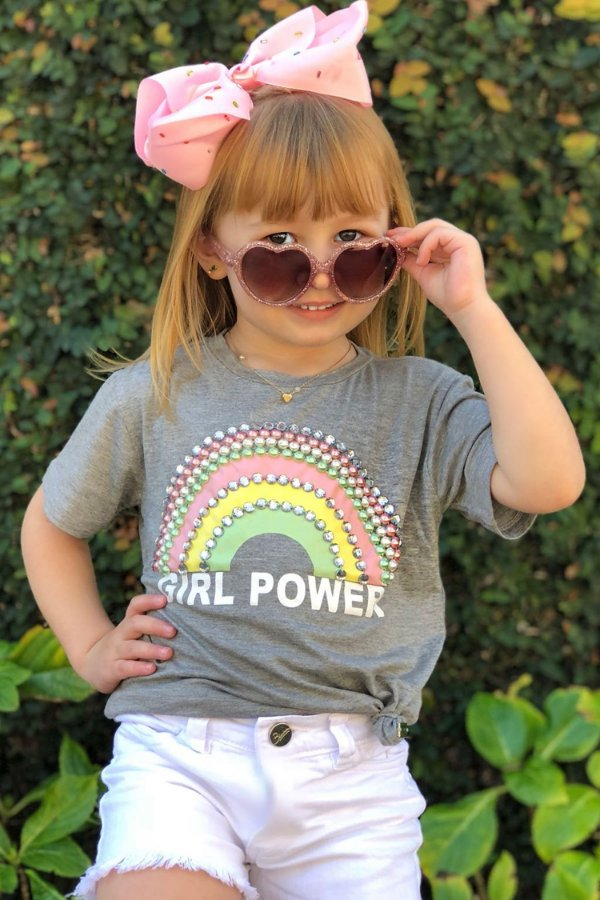 SPRING PREVIEW | T-shirt Girls Power Rainbow Blessinhas