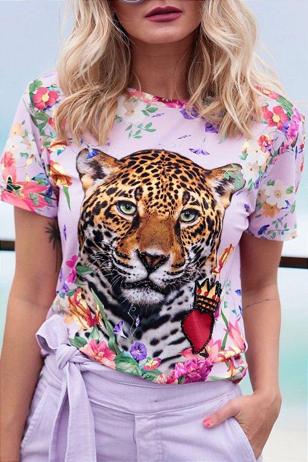 SPRING PREVIEW | Blusa Tigre Coração Coroa Bordado