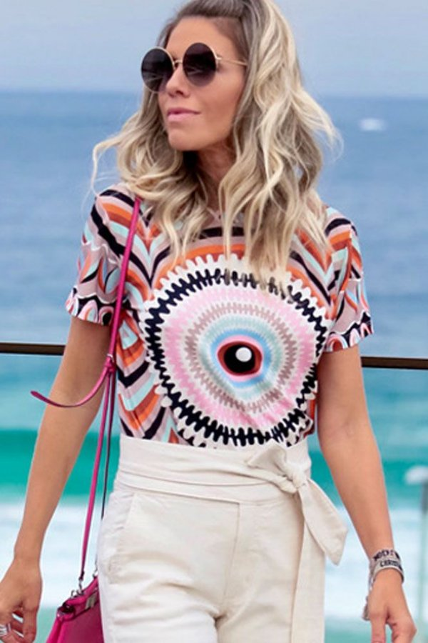 ESPECIAL SALE | Blusa Eye In The Middle