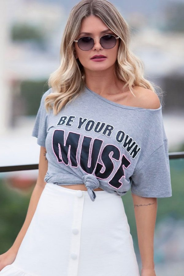 SPRING PREVIEW   Blusa Be Your Own Muse Bordada