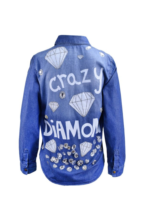ESPECIAL SALE | Camisa Crazy Diamonds Bordada