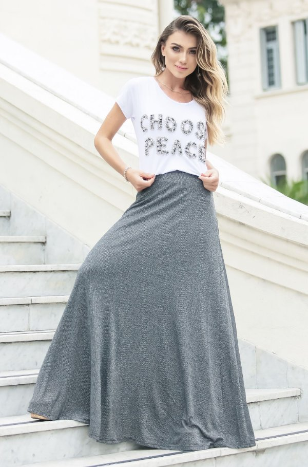 SUMMER PARADISE | Blusa Choose Peace Bordada