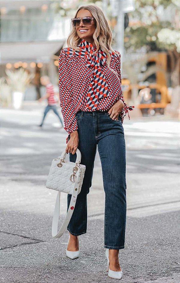 URBAN STYLE | Calça Jeans Mom Dark Blue