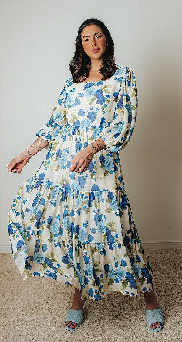 Vestido Estampa Flora | OCEAN VIEWS
