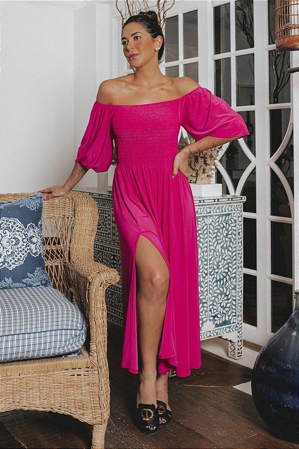 Vestido Íris Pink   DROPS OF JOY