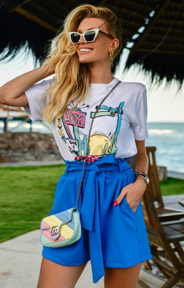 T-shirt Carole | RIVIERA FRANCESA