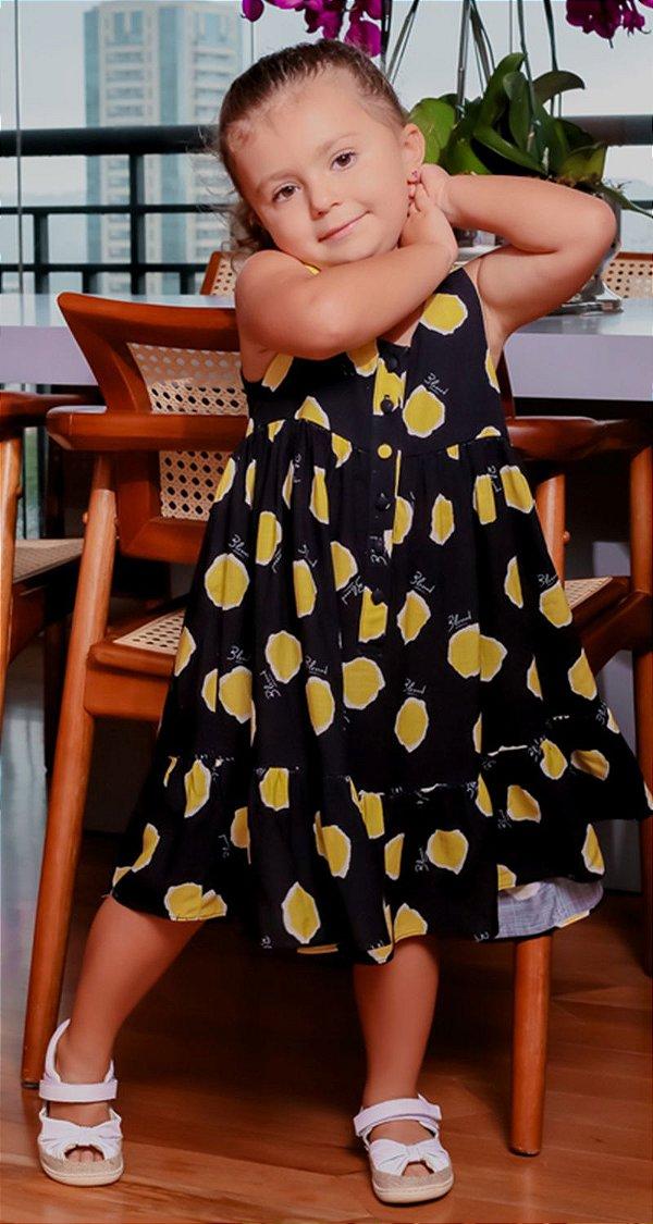 Vestido Blessinha Françoise Poá   RIVIERA FRANCESA