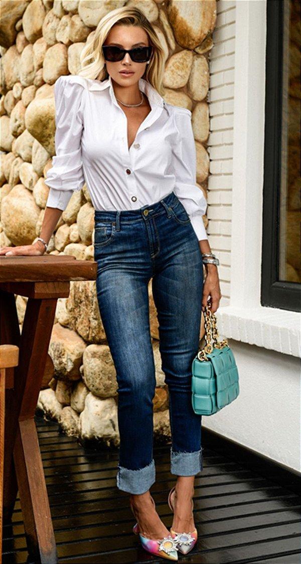 Calça Jeans Skinny Fabiana | DNA Blessed