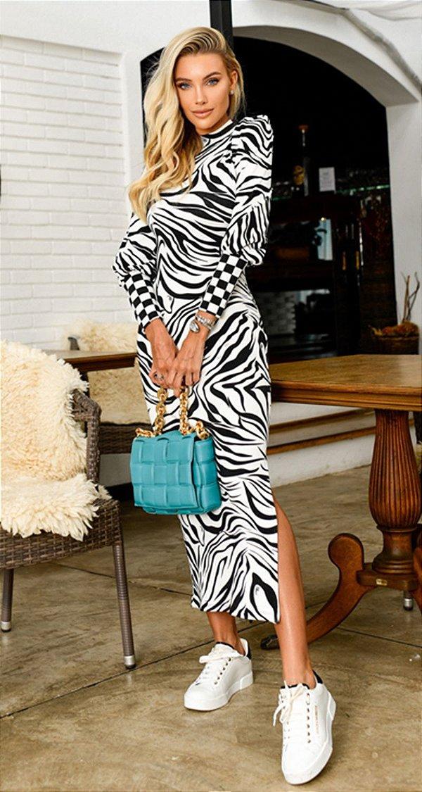 Vestido Tubinho Zebra Marcela | DNA Blessed