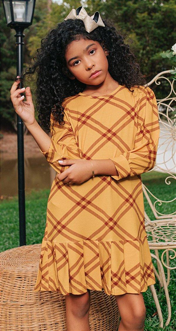 Vestido Infantil Blessinha Fernanda   WINTER Blessed