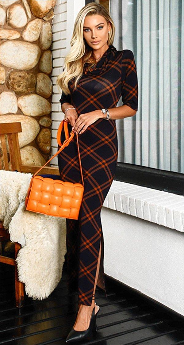 Vestido Tubinho Xadrez Fernanda | DNA Blessed