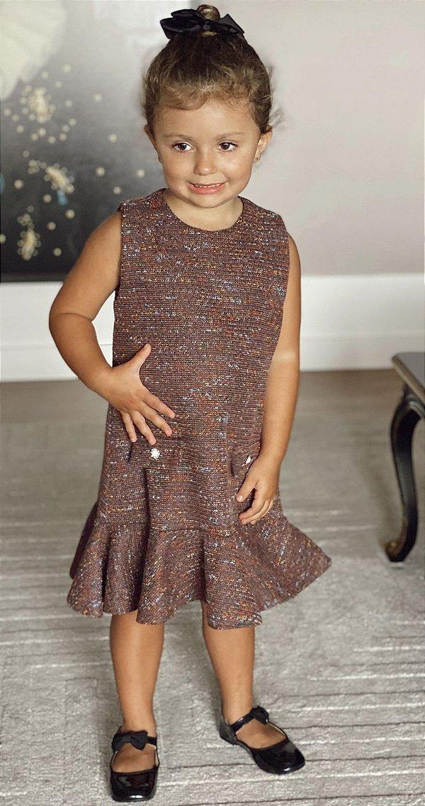Vestido Tweed Blessinha Amanda | DNA Blessed