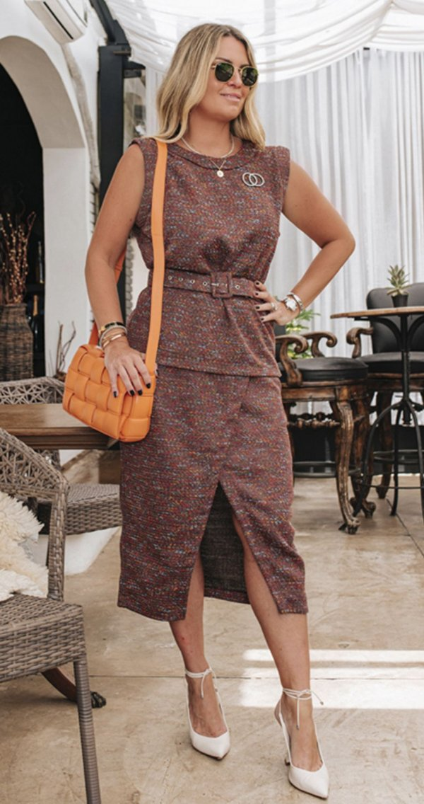 Conjunto Tweed Amanda | DNA Blessed