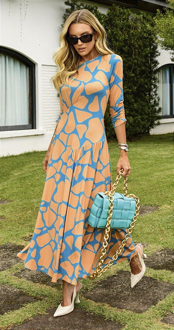 Vestido Midi Malha Ranna | DNA Blessed