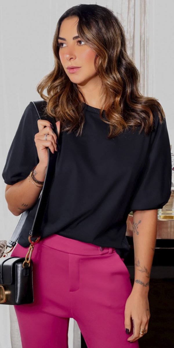 Blusa Malha Alessandra   WINTER BLESSED