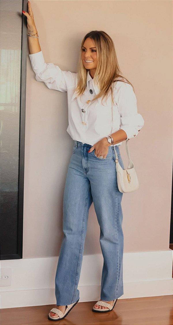 Calça Jeans Basic Reta Cinthia | WINTER BLESSED