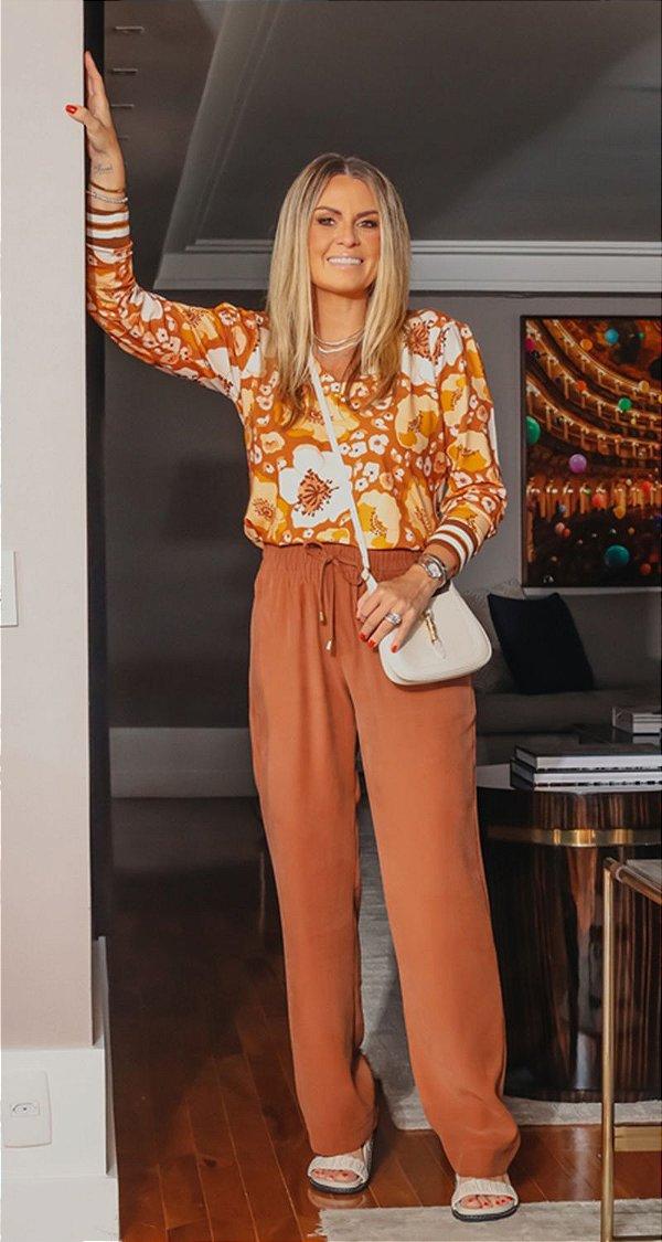 Calça Pantalona C/ Elástico Giovanna   WINTER BLESSED