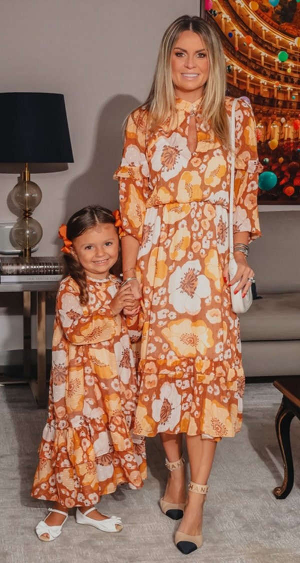 Vestido Midi Fio Lurex Margareth | DNA BLESSED