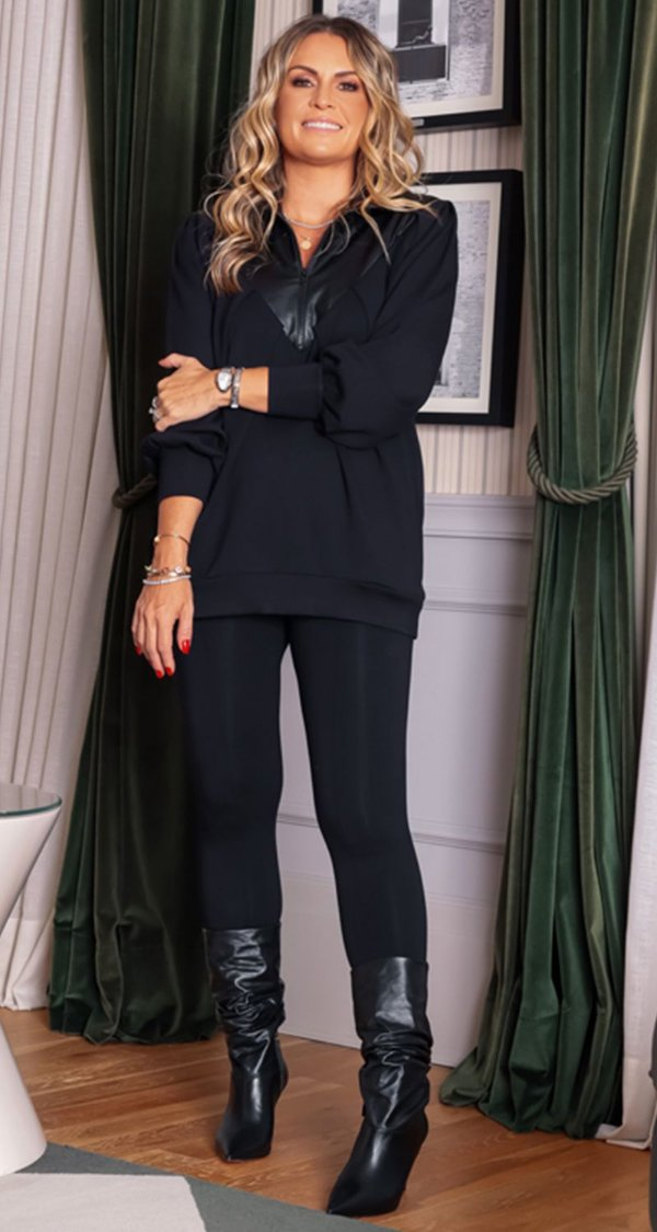 Blusa Malha Power C/ Detalhe Exclusive Fake Simone | DNA BLESSED