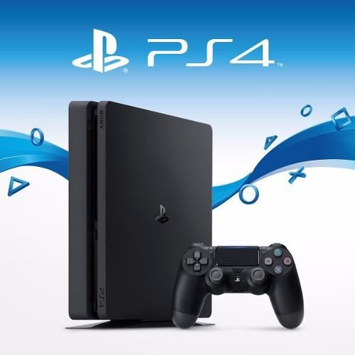 PLAYSTATION 4 SLIM 500 GB PRETO GARANTIA 1 ANO