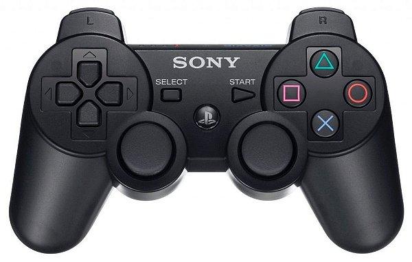 CONTROLE  PLAYSTATION 3  ORIGINAL SEMI-NOVO
