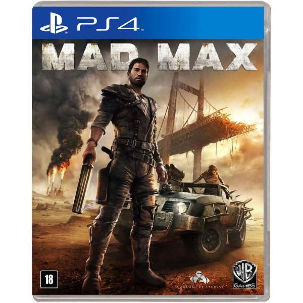 PLAYSTATION 4 MAD MAX SEMI-NOVO