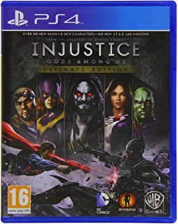 PLAYSTATION 4 INJUSTICE