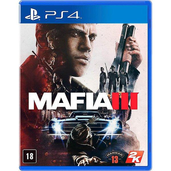 PLAYSTATION 4 JOGO MAFIA 3